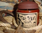 Boots 'n Saddles (Leather Scented) -16 oz Western Cowboy Candle