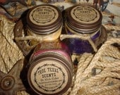 3 - 8 oz Christmas Scent Special - Texas style Western Cowboy Candles (You choose your scents)