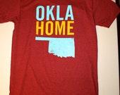 OklaHome T-shirt - Cardinal (X-Large)