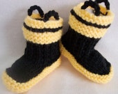 Baby Fireman Boots Crib shoes 0-12M Firefighter rescue baby booties READY TO SHIP---2 pair