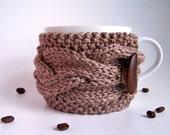 Coffee Cup Sleeve, Coffee Mug Cozies, Coffee Cup Cozies, Coffee Mug Sleeve, Tea Cup Cozy, Knit Cup Cozy, Coffee Cup Cozy