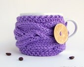 Tea Cozy - Coffee Cozy - Last Minute Gift - Tea Cosy - Cup Warmer - Coffee Mug Cozy - Coffee Cup Cozy - Gifts Under 20 - Gifts For Mom