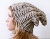 Knit Wool Hat, Knit Winter Hat, Womens Slouchy Beanie, Womens Slouchy Hat, Womens Slouch Hat, Mens Slouchy Beanie, Mens Slouch Beanie