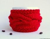 Valentine Coffee Mug Cozy, Coffee Cup Cozy, Coffee Cup Sleeve, Tea Cozy, Coffee Sleeve, Coffee Mug Sleeve, Valentines Day Decor