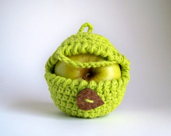 Apple Cozy, Greenery Snack Bags, Crochet Apple Cozy, Yoga Gifts, Fitness Gifts, Stuent Gifts, Boyfriend Gift, Brother Gift Son Gift
