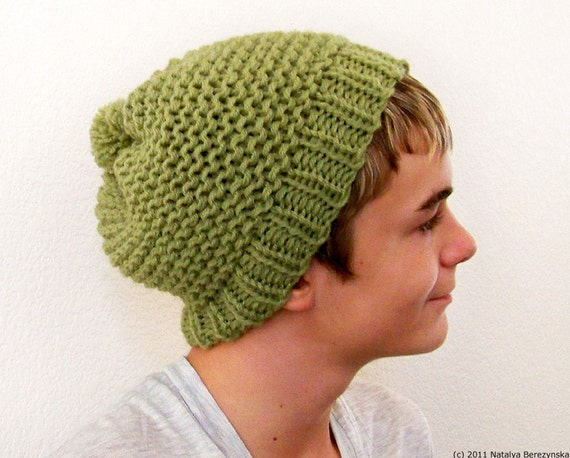 Mens Slouchy Beanie Hat, Mens Winter Hat Men, Mens Knit Hat, Mens Knit Beanie, Mens Slouch Beanie, Mens Beanie, Mens Hats Slouchy Beanie Men