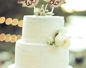Cake Topper Love Birds Rustic Wedding Decor (item E10046)