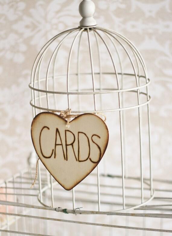 Card Box Sign Rustic Wedding Decor (item E10061)