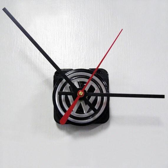 Mini VW Car Wall Clock - Volkswagen Upcycled Clock