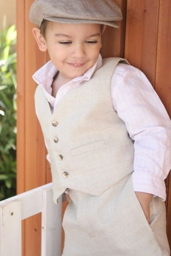 Any color and material Vest for Boys