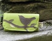 Singing Bird on a Branch card-key-holder