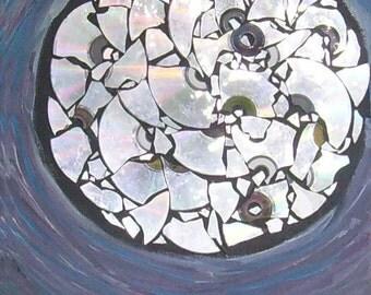 Moonbeams and Shattered Dreams Art Magnet