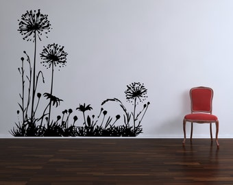 Wild Dandelion Wall Decal