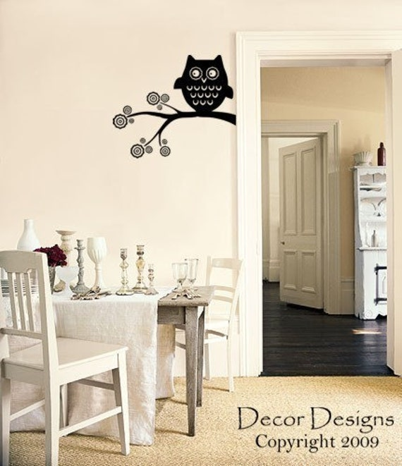 SALE. 1 Day Only. 50% OFF. Use Coupon Code CYBER50.Cute Owl Vinyl Vinyl Wall Decal Sticker