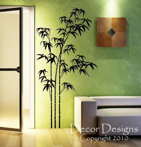 ... Large Bamboo Vinyl Wall Decal Sticker. 🔎zoom