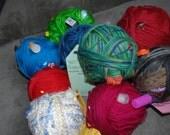 A Custom Magic Yarn Ball - A Great Gift For A Knitter or Crocheter - OOAK