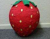 Strawberry Pinata -MADE TO ORDER