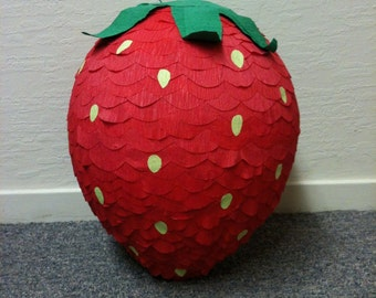 Strawberry Pinata -MADE TO ORDER