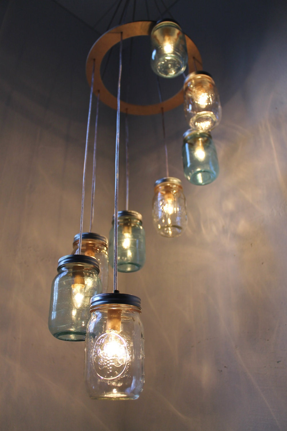 Diy Light Fixtures Mason Jar Diy Craft Projects
