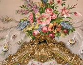 Versailles Photography  -  Marie Antoinette, Paris Photography, Pink and White Roses, Romantic French Decor, Large Wall Art