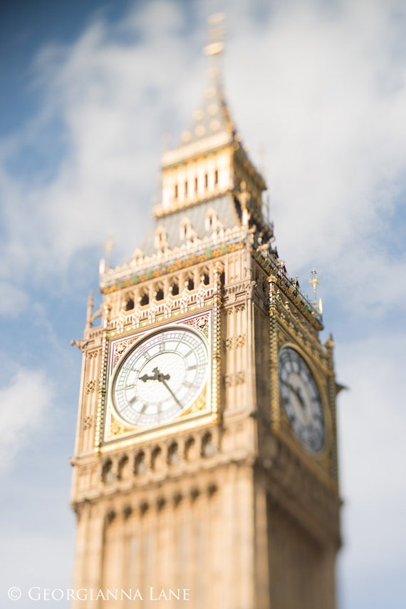 London Photo - Big Ben, Westminster, Clock Tower, England Travel Photo, Home Decor, Affordable Travel Wall Art