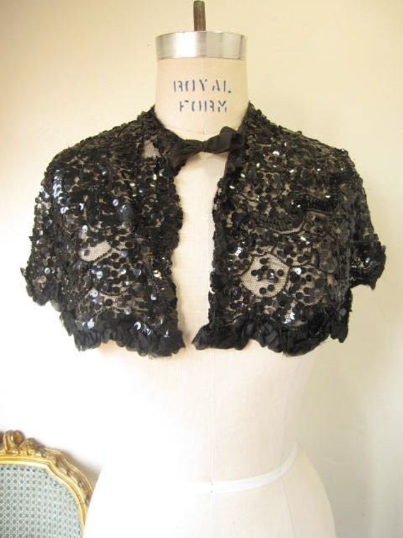Black Shrug Sweater