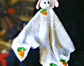 Bunny Toy Blanket Crochet Pattern PDF 577