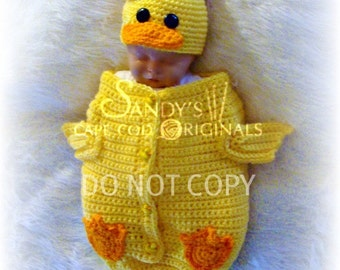 Baby Afghan Blanket Crochet Pattern Just Ducky - Ad
