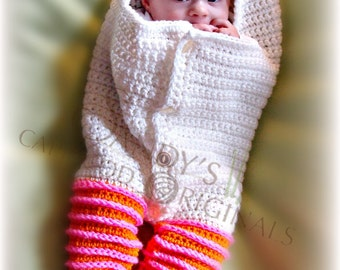 Almost Hatched Cocoon pdf 660 digital crochet pattern permission to sell