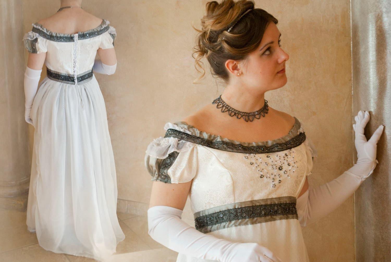 Bridal Ball Regency Gown