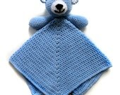 Teddy Bear Security Blanket - PDF Crochet Pattern - Instant Download