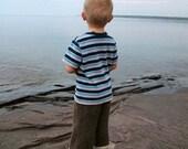 Birchbark Longies -  KNITTING PATTERN - Wool Longies - Cloth DIaper Soakers - Child Sizes 3 to 16