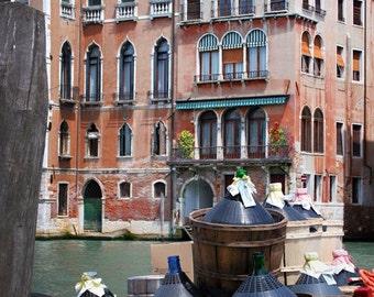 Fine Art Photograph - Venice Wine Jugs