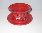 Red Jewelry Holder