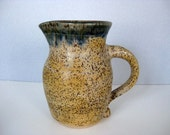 Speckled Stoneware Pitcher