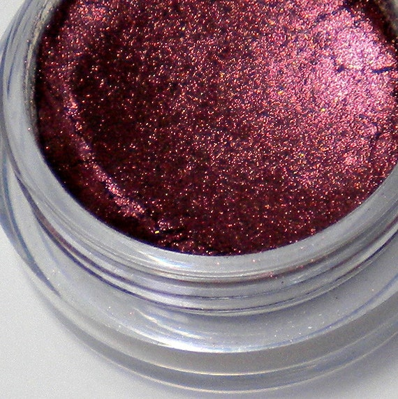 Pomegranate Mineral Eyeshadow Pigment - All Natural, Vegan Friendly Mineral Makeup -  Sample Sizes and container options Available - On Sale