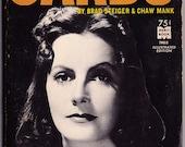Greta Garbo 2 vintage books small paperbacks 1 French 1 English with many wonderful photos retro film movie star biography -Free US shipping