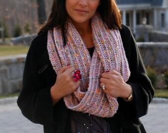 Instant Download PDF Womens Mobius Cowl Crochet Pattern Ladies Infinity Scarf Tutorial Neckwarmer Digital Pattern