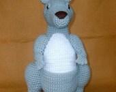 Crochet Kangaroo - PDF Pattern