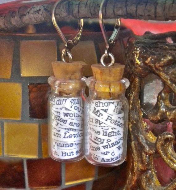 Hogwarts in a Jar Earrings