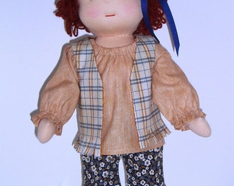 PDF Pattern for 16-inch Waldorf Doll Plus Clothing