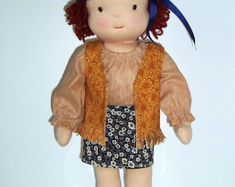 NEW PDF Pattern for 16-inch Waldorf Doll Plus Clothing