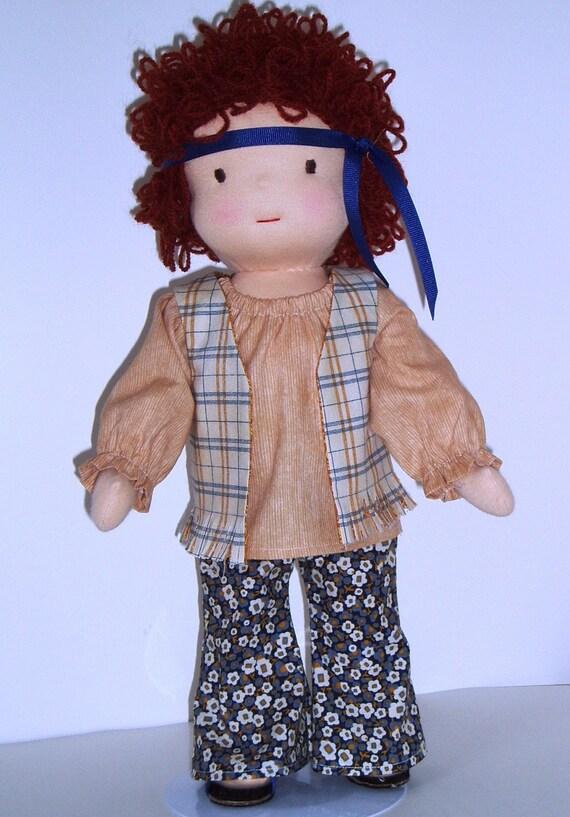 PDF Pattern for 16-inch Waldorf Doll Plus Clothing