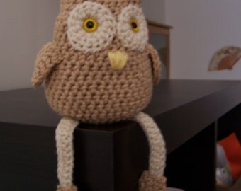 Crocheted Little Owl Pattern