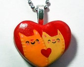 Kitty Cat Love Necklace