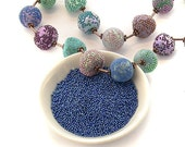 Holeless Micro Beads - Large Deco Beads - For Polymer Clay, Resin, Crafts. Lots of Colours