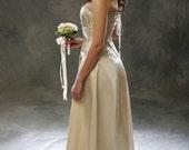 Bridal Gown Corset Ensemble