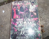 Vintage Book The Love You Make An Insider's Story Of The Beatles