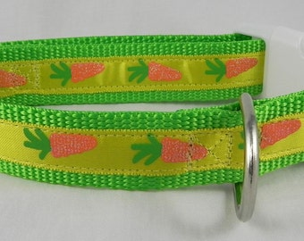 Easter Bunny Carrot Dog Collar / Easter Dog Collar / Spring Dog Collar