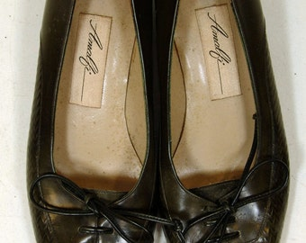 Vintage Amalfi Genuine Leather Heels